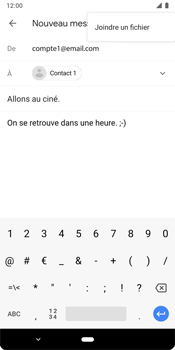 Google Pixel 3 - E-mails - Envoyer un e-mail - Étape 10
