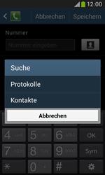 Samsung S7580 Galaxy Trend Plus - Anrufe - Anrufe blockieren - Schritt 10