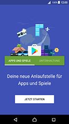 Sony Xperia X - Apps - Konto anlegen und einrichten - 18 / 20
