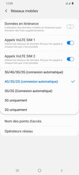 Samsung Galaxy S20 Ultra 5G - Réseau - Comment activer une connexion au réseau 5G - Étape 7