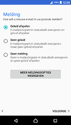 Sony Xperia X Compact (F5321) - E-mail - Handmatig Instellen - Stap 14