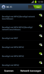 Samsung I9100 Galaxy S II met OS 4 ICS - WiFi - Handmatig instellen - Stap 7