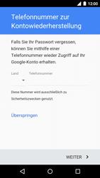Motorola Moto G 3rd Gen. (2015) - Apps - Konto anlegen und einrichten - Schritt 11