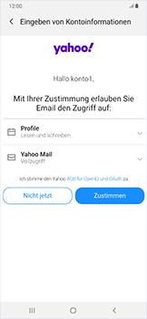 Samsung Galaxy A50 - E-Mail - Konto einrichten (yahoo) - Schritt 9