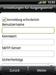 HTC A3333 Wildfire - E-Mail - Konto einrichten - Schritt 11