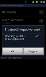Samsung I8160 Galaxy Ace II - Bluetooth - koppelen met ander apparaat - Stap 10