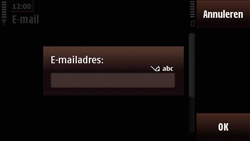 Nokia N97 Mini - e-mail - handmatig instellen - stap 9