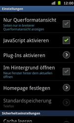 Samsung Galaxy S Advance - Internet und Datenroaming - Manuelle Konfiguration - Schritt 21