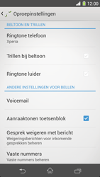 Sony D5503 Xperia Z1 Compact - voicemail - handmatig instellen - stap 5