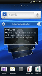 Sony Ericsson Xperia Arc S - E-mail - e-mail instellen: POP3 - Stap 1