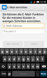 Alcatel Pop C3 - E-Mail - Konto einrichten - 2 / 2