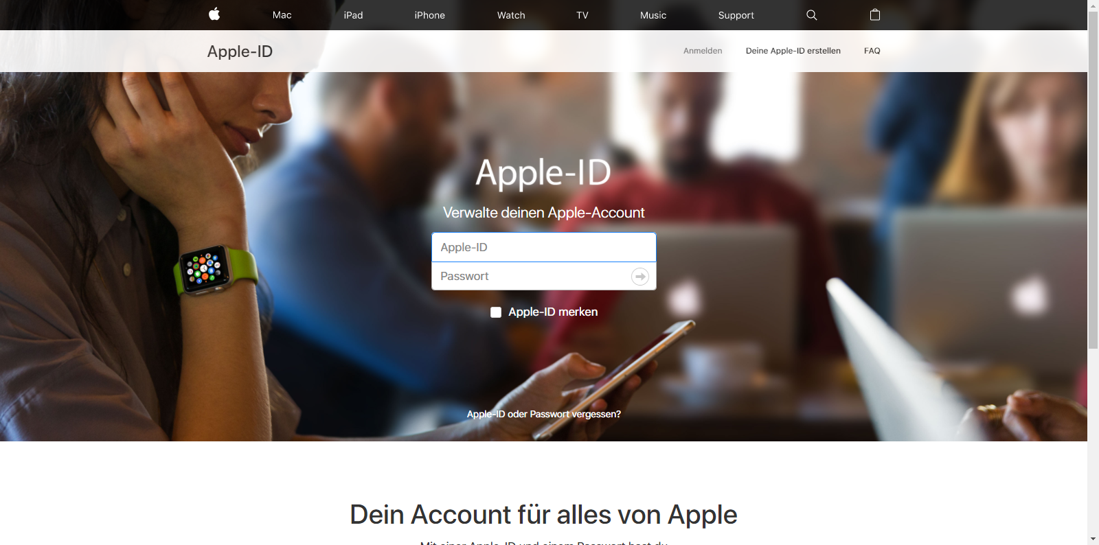 Apple iPhone 6s - Datenschutz und Sicherheit - Apple ID vergessen (Option 2) - 1 / 1
