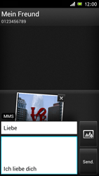 Sony Xperia J - MMS - Erstellen und senden - 0 / 0