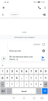 Huawei Y5 (2019) - Contact, Appels, SMS/MMS - Envoyer un MMS - Étape 11