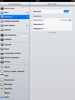 Apple iPad Retina - Bluetooth - Collegamento dei dispositivi - Fase 9
