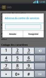 LG E460 Optimus L5 II - SMS - configuration manuelle - Étape 8