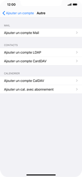 Apple iPhone XS Max - iOS 13 - E-mail - Configuration manuelle - Étape 7