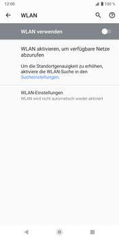 Sony Xperia XZ3 - WLAN - Manuelle Konfiguration - Schritt 6