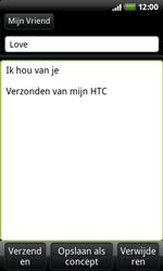 HTC A7272 Desire Z - E-mail - E-mails verzenden - Stap 7