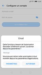 Huawei P9 - Android Nougat - E-mail - Configuration manuelle (outlook) - Étape 6