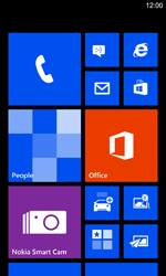 Nokia Lumia 925 - Getting started - Personalising your Start screen - Step 1