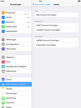 Apple iPad 4 - E-Mail - Konto einrichten - 2 / 2