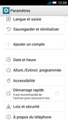 Alcatel One Touch Idol Mini - Logiciels - Installation de mises à jour - Étape 4