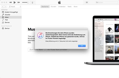 Apple iPhone 6 Plus - Software - Sicherungskopie Ihrer Daten erstellen - 0 / 0