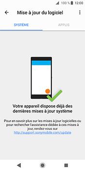 Sony Xperia XZ2 - Appareil - Mises à jour - Étape 8