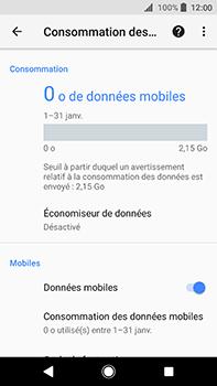 Sony Xperia XA2 Ultra - Internet - Désactiver les données mobiles - Étape 6
