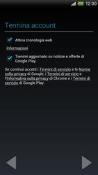 HTC One X Plus - Applicazioni - Configurazione del negozio applicazioni - Fase 12