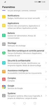 Huawei P Smart 2020 - Aller plus loin - Restaurer les paramètres d'usines - Étape 3