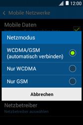 Samsung Galaxy Young 2 - Netzwerk - Netzwerkeinstellungen ändern - 0 / 0