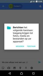 Sony Xperia XZ - Android Nougat - MMS - afbeeldingen verzenden - Stap 9