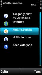 Nokia X6-00 - MMS - handmatig instellen - Stap 7