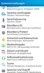 BlackBerry Z10 - Fehlerbehebung - Handy zurücksetzen - Schritt 6