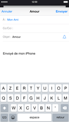 Apple iPhone 6 iOS 8 - E-mails - Envoyer un e-mail - Étape 7