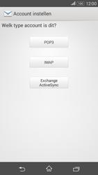 Sony E2003 Xperia E4G - e-mail - handmatig instellen - stap 7