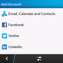 BlackBerry Q10 - E-mail - Manual configuration - Step 6