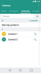 LG X Screen - Contactgegevens overzetten - delen via Bluetooth - Stap 4