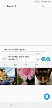 Samsung Galaxy J4+ - MMS - Erstellen und senden - Schritt 17