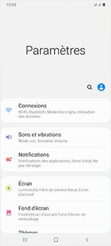 Samsung Galaxy A41 - Internet et connexion - Désactiver la connexion Internet - Étape 4