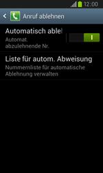 Samsung I9105P Galaxy S2 Plus - Anrufe - Anrufe blockieren - Schritt 7