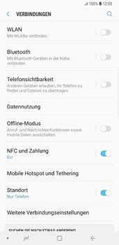 Samsung Galaxy S8 Plus - Android Oreo - Bluetooth - Geräte koppeln - Schritt 7