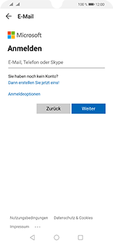 Huawei P30 Lite - E-Mail - 032c. Email wizard - Outlook - Schritt 6