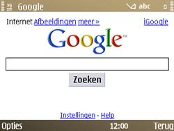 Nokia E72 - internet - hoe te internetten - stap 10