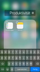 Apple iPhone 6s iOS 10 - Startanleitung - Personalisieren der Startseite - Schritt 6