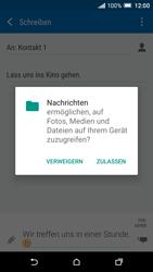 HTC One A9 - MMS - Erstellen und senden - 0 / 0