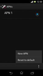 Sony C1905 Xperia M - Internet - Manual configuration - Step 10