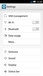 Alcatel One Touch Idol Mini - Network - Manual network selection - Step 6